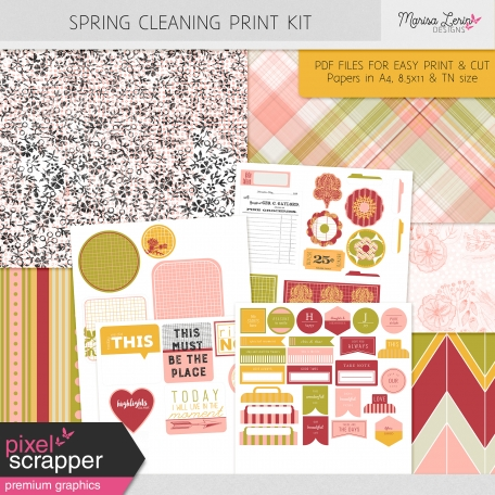 Spring Fields Print Kit