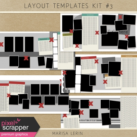 Layout Templates Kit #3