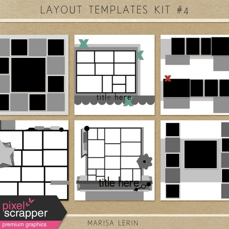 Layout Templates Kit #4