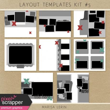 Layout Templates Kit #5