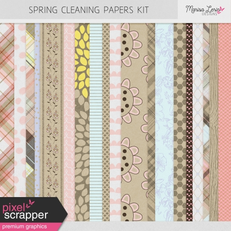 Spring Cleaning Papers Kit