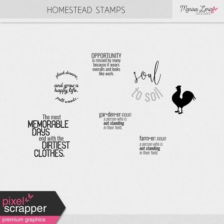 Homestead Stamps Kit