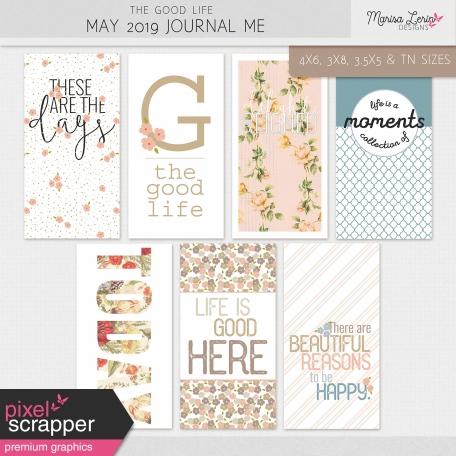 The Good Life: May 2019 Journal Me Kit