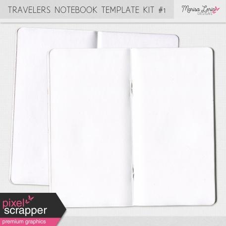Travelers Notebook Template Kit #1