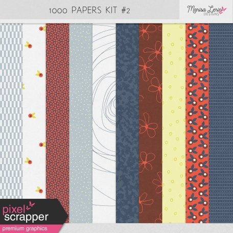 1000 Papers Kit #2