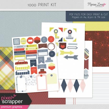 1000 Print Kit