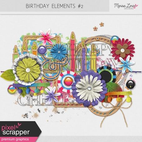 Birthday Elements Kit #2