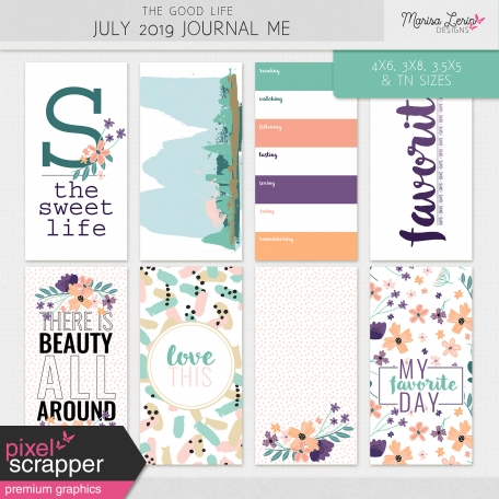 The Good Life: July 2019 Journal Me Kit