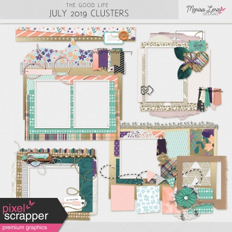 The Good Life: July 2019 Clusters Kit