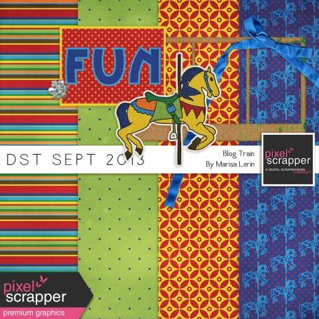 DST September 2013 Blog Train Mini Kit