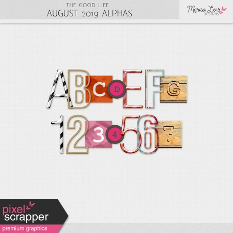 The Good Life: August 2019 Alphas  Kit