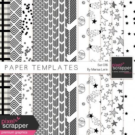 Paper Templates 016 Kit