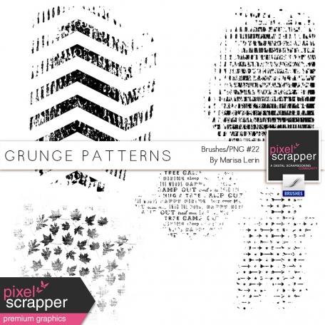 Grungy Patterns - Brush #22 Kit