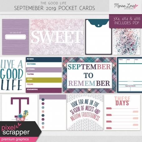 The Good Life: September 2019 Pocket Cards Kit