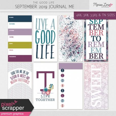 The Good Life: September 2019 Journal Me Kit