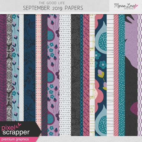 The Good Life: September 2019 Papers Kit