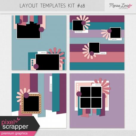 Layout Templates Kit #48