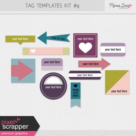 Tag Templates Kit #9