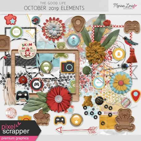The Good Life: October 2019 Elements Kit