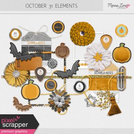October 31 Elements Kit