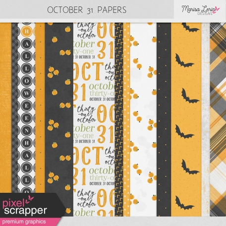 October 31 Papers Kit
