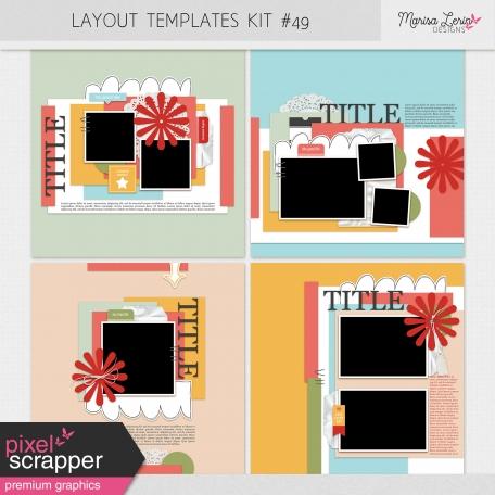 Layout Templates Kit #49