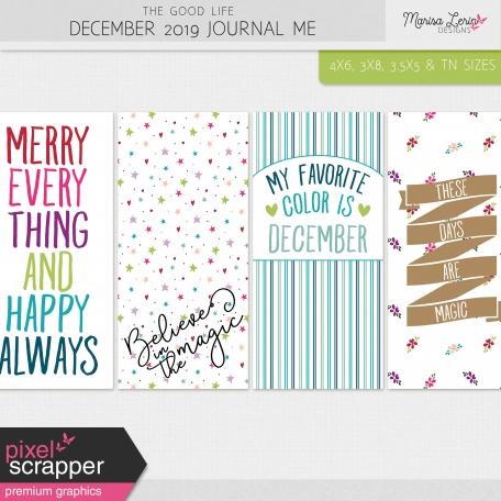 The Good Life: December 2019 Journal Me Kit