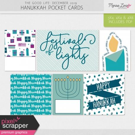 The Good Life: December 2019 Hanukkah Pocket Cards Kit