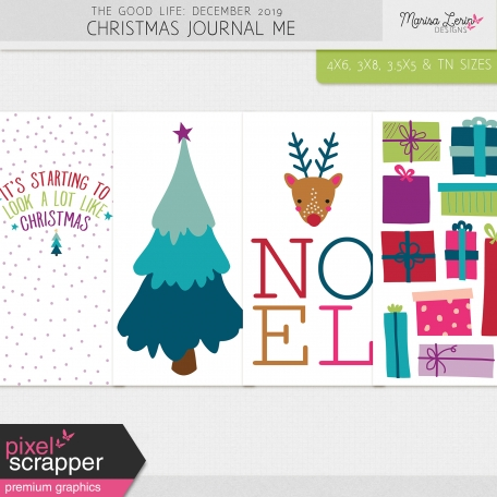 The Good Life: December 2019 Christmas Journal Me Kit