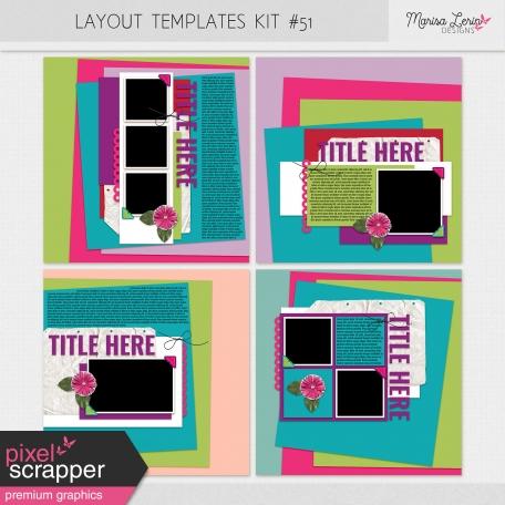 Layout Templates Kit #51