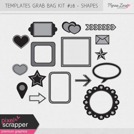 Templates Grab Bag Kit #28 - Shapes