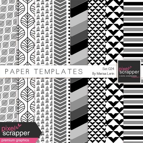 Paper Templates Kit #24