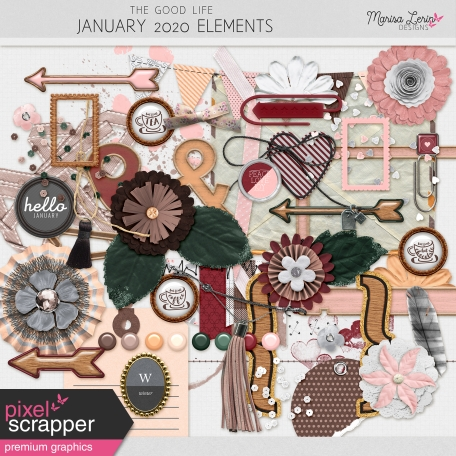 The Good Life: January 2020 Elements Kit