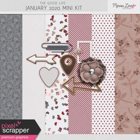 The Good Life: January 2020 Mini Kit