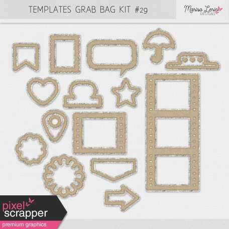 Templates Grab Bag Kit #29