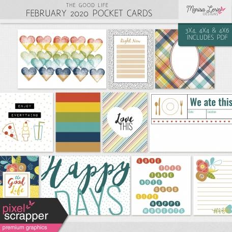 The Good Life: February 2020 Pocket Cards Kit