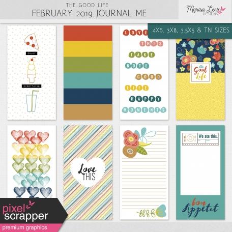 The Good Life: February 2020 Journal Me Kit
