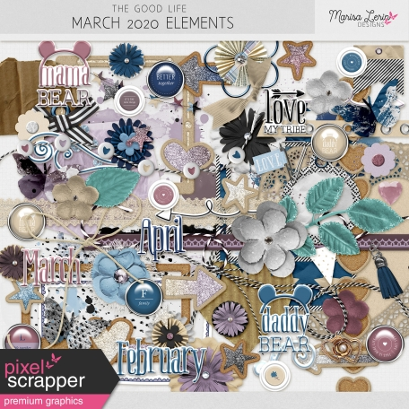 The Good Life: March 2020 Elements Kit