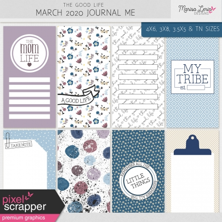 The Good Life: March 2020 Journal Me Kit