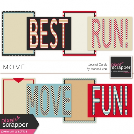 Move Journal Cards Kit