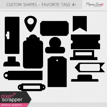 Custom Shapes Kit - Tags #1