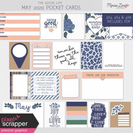 The Good Life: May 2020 Pocket Cards Kit