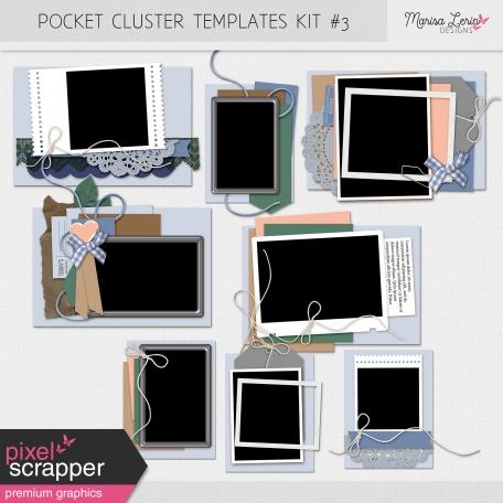 Pocket Cluster Templates Kit #3