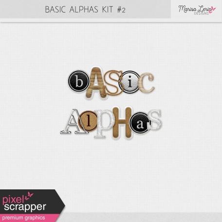 Basic Alphas Kit #2