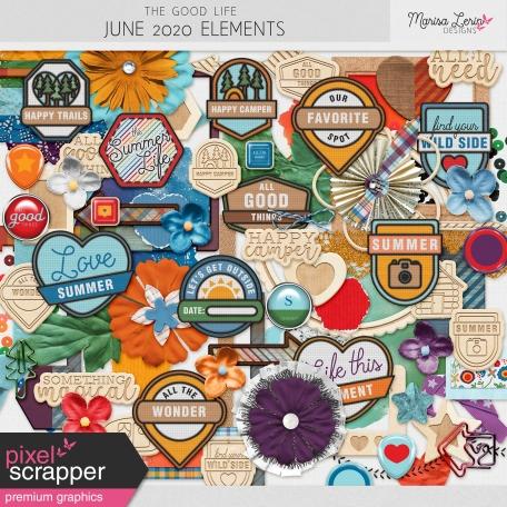 The Good Life: June 2020 Elements Kit