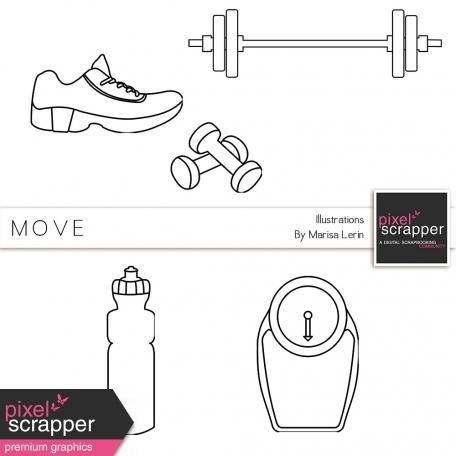 Move Illustrations Kit