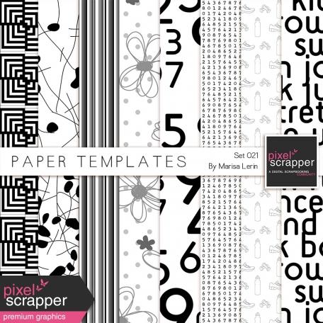Paper Templates Kit #21