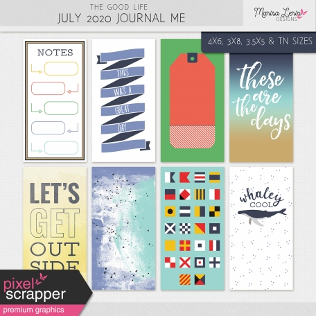The Good Life: July 2020 Journal Me Kit