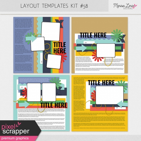 Layout Templates Kit #58