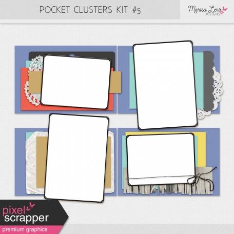 Pocket Cluster Templates Kit #5
